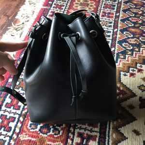 Urban Outfitters Faux Leather Bucket Bag